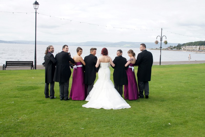 Bridal Party Largs